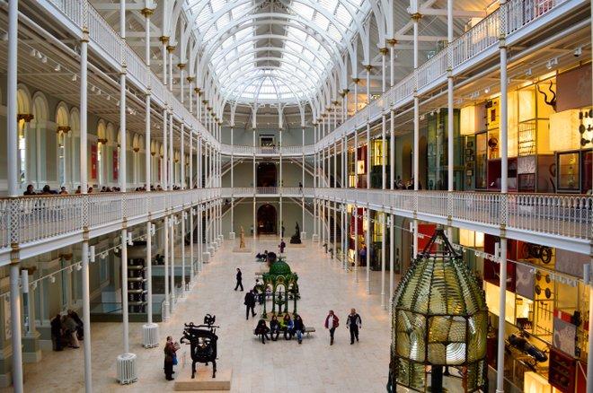 Museo Nacional de Escocia; Foto cortesía de Flickr / Marian Craig