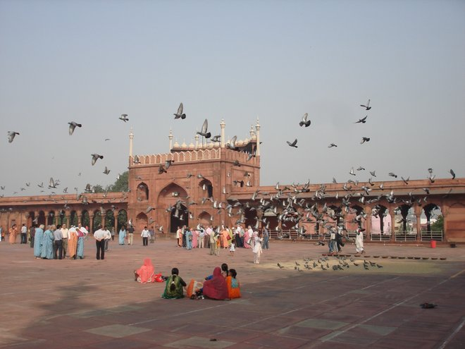 Jama Masjid imagem cortesia de Kyle Valenta