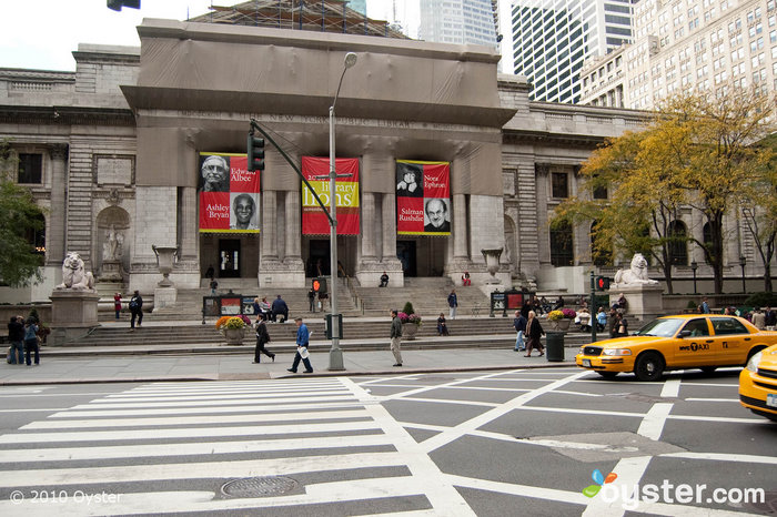 Find your favorite books in the vast collection at the New York Public Library