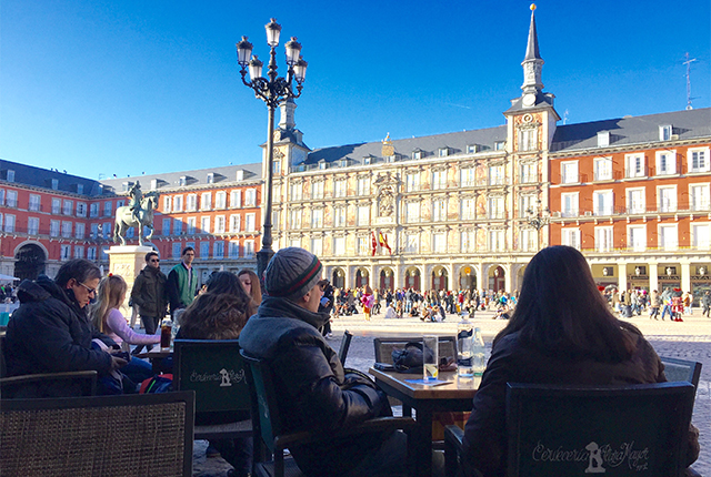 Plaza Mayor in Madrid; image courtesy of Kyle Valenta.