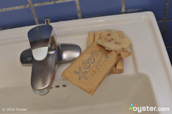 Starfish Oils Seife im Rockhouse Hotel