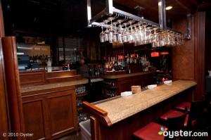 The bar at the Grand Hyatt New York