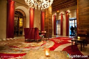 Lobby at Gramercy Park Hotel