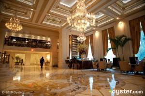 Lobby at The Plaza