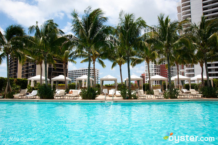 Rooftop pool at Four Seasons Miami