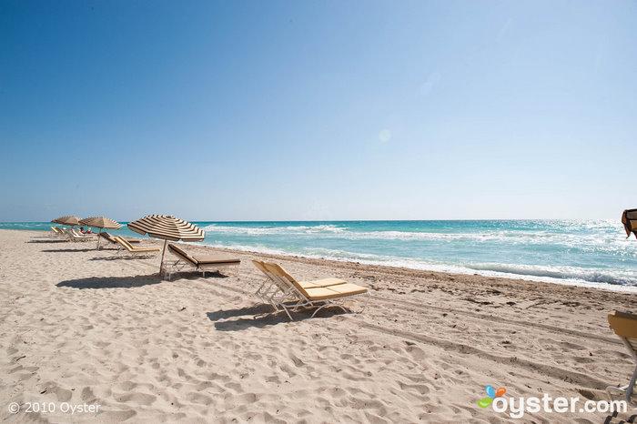 Der Strand bei Canyon Ranch Miami Beach