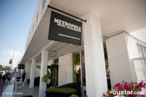 Entrance at Metropole South Beach