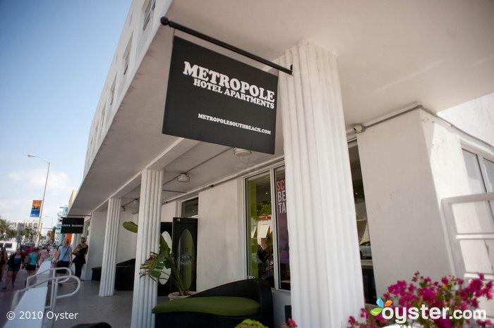 Entrada en Metropole South Beach