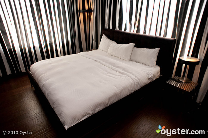 Bedroom in one-bedroom suite