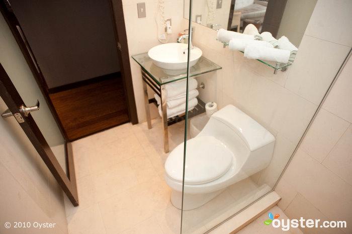 Bathroom in one-bedroom suite