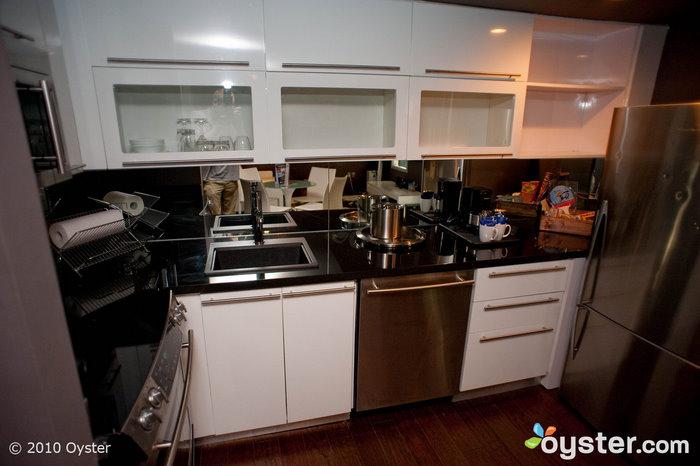 Kitchen in two-bedroom suite