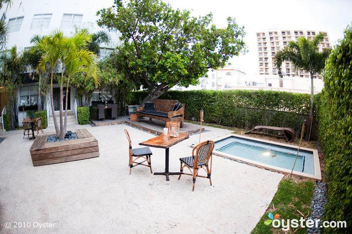 Jardín en Metropole South Beach