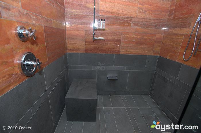 Dusche in einem Andaz Groß mit Aussicht