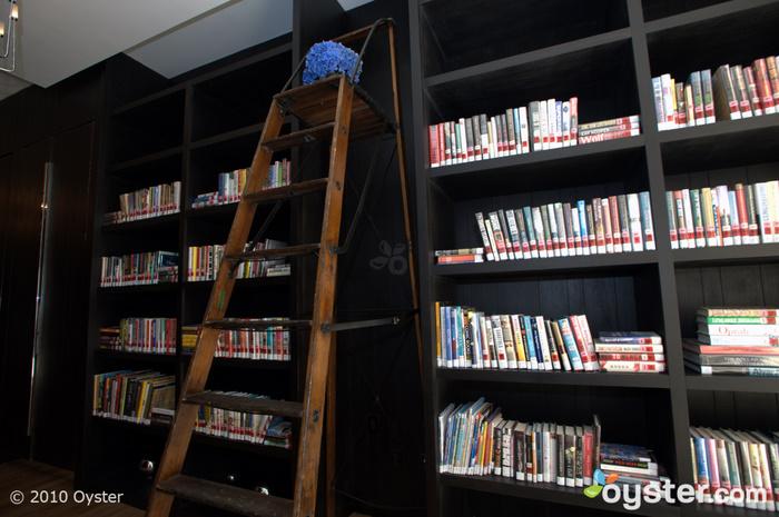 Bibliothek im Erdgeschoss der Andaz Fifth Avenue
