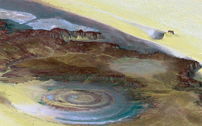 Mit freundlicher Genehmigung von  Flickr / Jim Trodel / NASA / JPL / NIMA