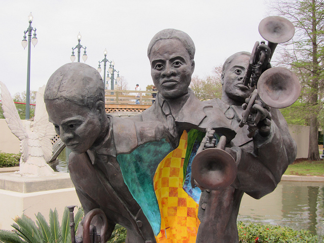 Louis Armstrong Park; Photo courtesy of Flickr/Jason Riedy