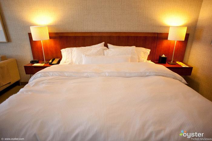 The Heavenly Bed at Westin Casuarina Las Vegas Hotel, Casino & Spa