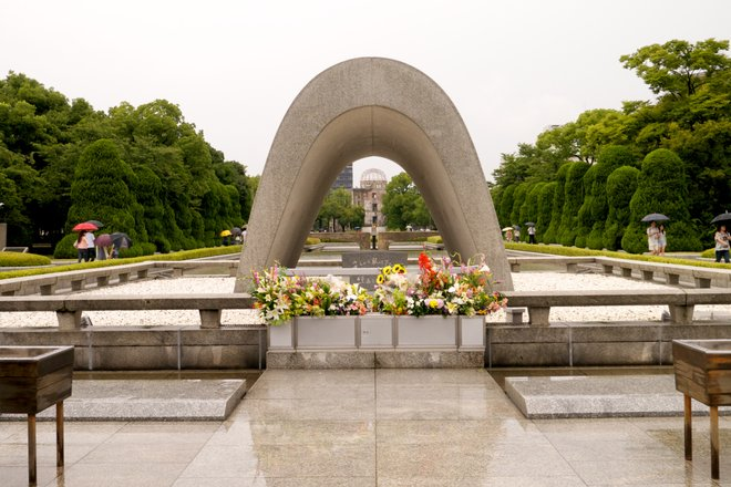 Peace Memorial Park, Hiroshima; Photo courtesy of Kei Izumi via Flickr