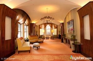 Lobby en el Back Bay Hotel