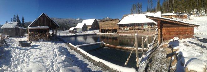 Foto cortesía de Burgdorf Hot Springs