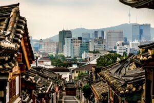 Bukchon Hanok Village in Seoul. Courtesy of Flickr/Doug Sun Beams