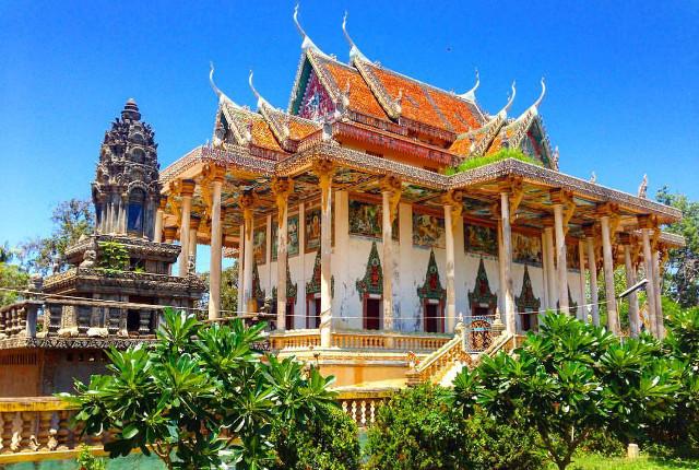 A Cambodian Pagoda. Photo: Kevin Brouillard