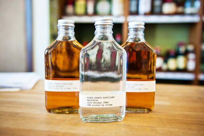 Bottles of whiskey from Kings County Distillery. Courtesy of Flickr/JOH_2284
