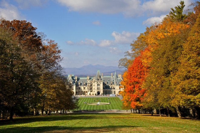 Le domaine Biltmore. Photo: Jennifer Boyer / Flickr