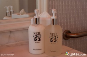 Neil George toiletries
