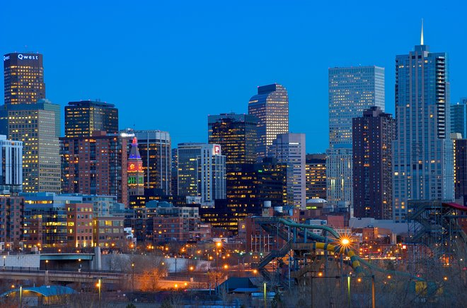 Denver skyline. Photo: Larry Johnson/Flickr