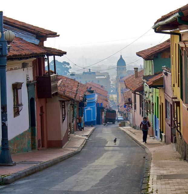 Bogotà. Foto per gentile concessione di Tijs Zwinkels