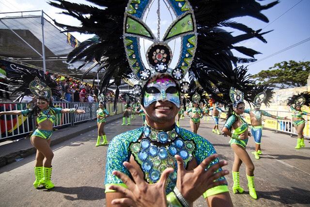 Carnevale a Baranquilla. Foto per gentile concessione di Ignacio Rameriz Torrado