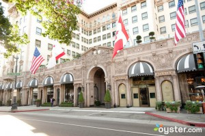 Entrance to The Beverly Wilshire