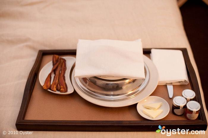 The Mercer Hotel in SoHo offers 24 hour room service from Jean-Georges Vongerichten's Mercer Kitchen.
