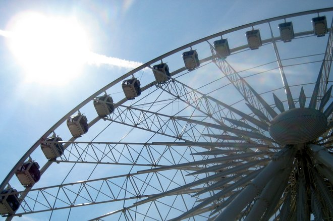 Imagem de SkyWheel Niagara cortesia de susteph via Flickr