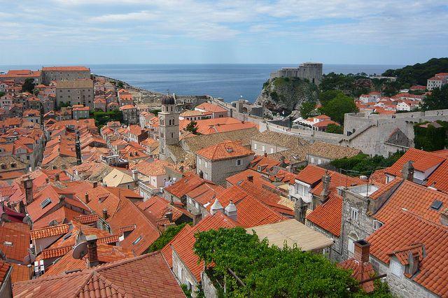 View from Dubrovnik walls courtesy of Jessica Spengler/Flickr