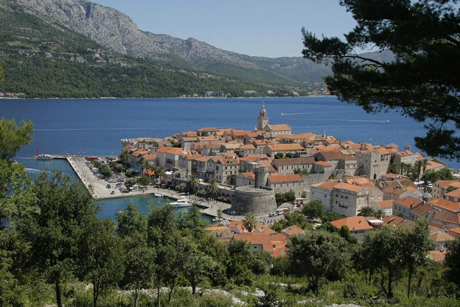 View of Korcula courtesy of Croatian Tourist Office