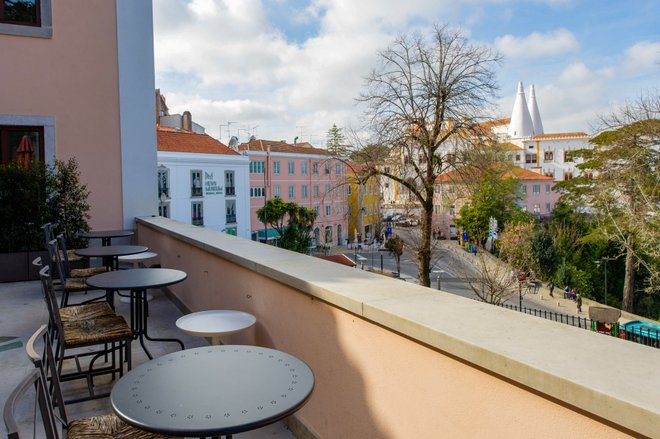 View from the Sintra Boutique Hotel