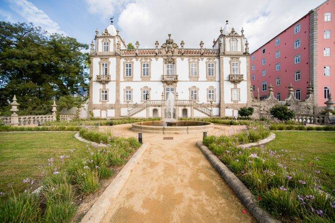 Vista do Palácio do Freixo
