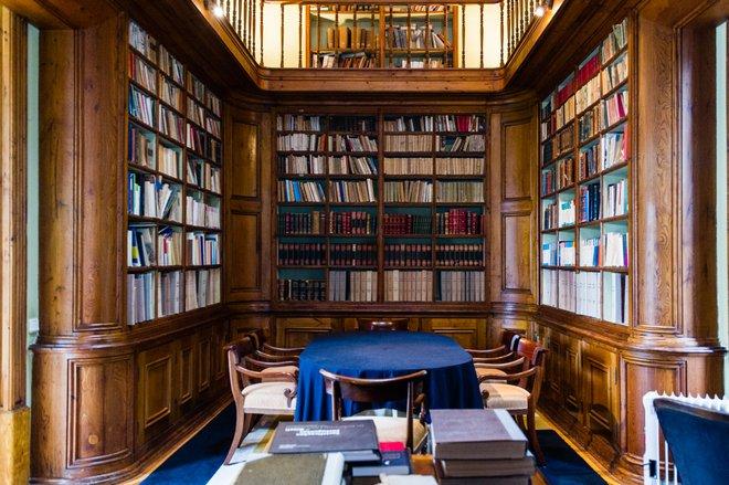 Biblioteca no Hotel Quinta das Lagrimas