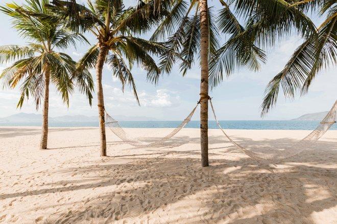 Beach at the Evason Ana Mandara Nha Trang