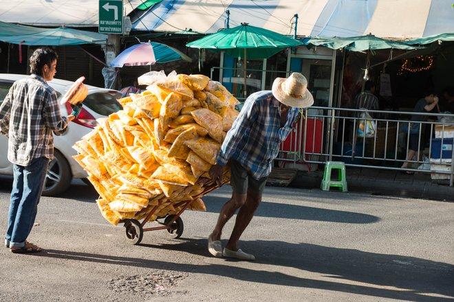 Bangkok Blumenmarkt / Oyster