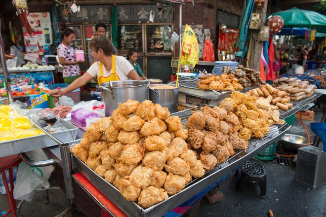 Street Food Vendors/Oyster