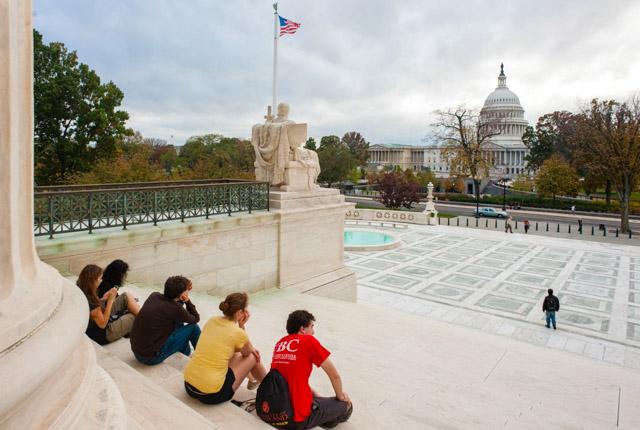 Gebäude des Obersten Gerichtshofs, Capitol Hill, Washington, DC / Oyster