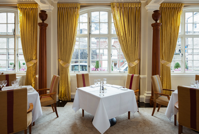 The Dining Room at The Goring/Oyster