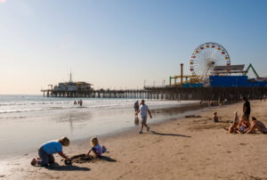 Santa Monica Beach, Los Angeles/Oyster