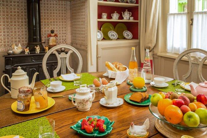 Breakfast Room at the La Petite Folie/Oyster