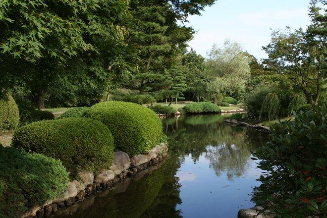 Jardines de Kairakuen. Cortesía de Lukas / Wikimedia .