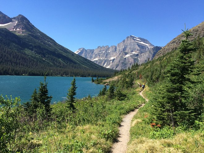 Grinnell Glacier Trail; Image courtesy of Lara Grant