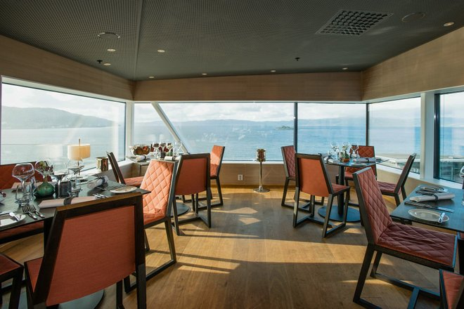 Skybar - Astrum Grill & Raw Bar at the Clarion Hotel & Congress Trondheim/Oyster